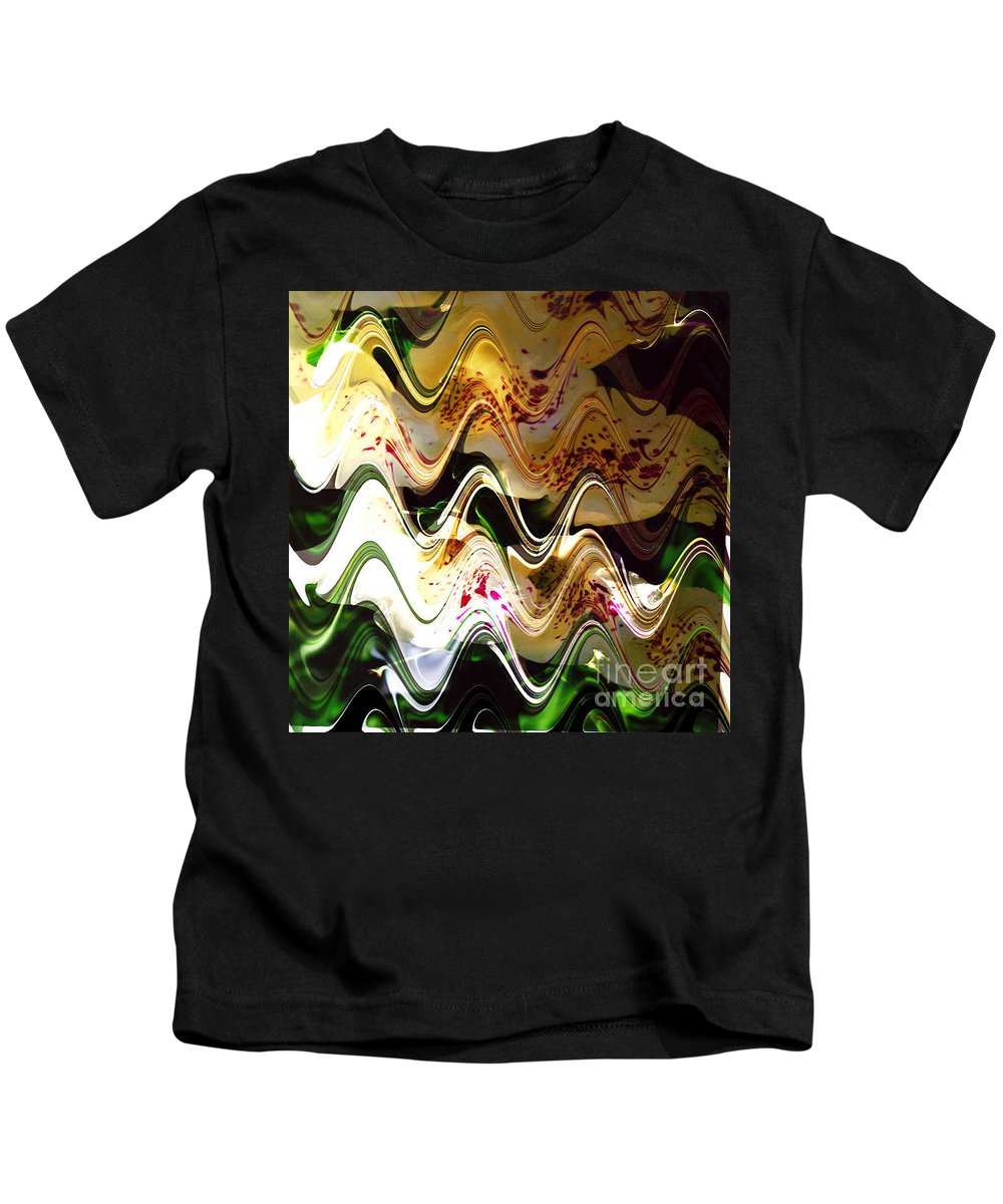 Digital Image Kids T-Shirt featuring the digital art Inspiration by Yael VanGruber