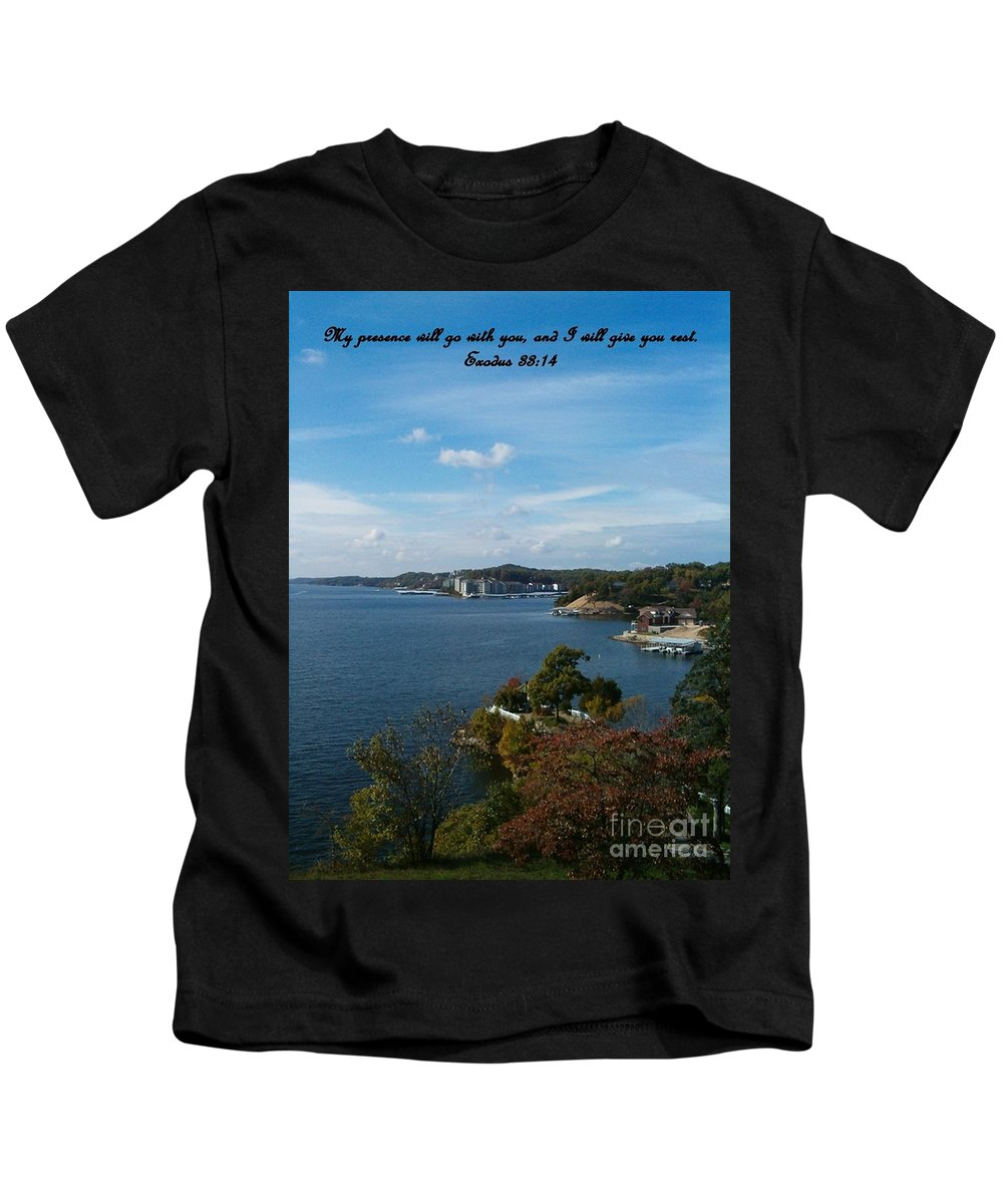 Lake Kids T-Shirt featuring the photograph Inspirations 6 by Sara Raber