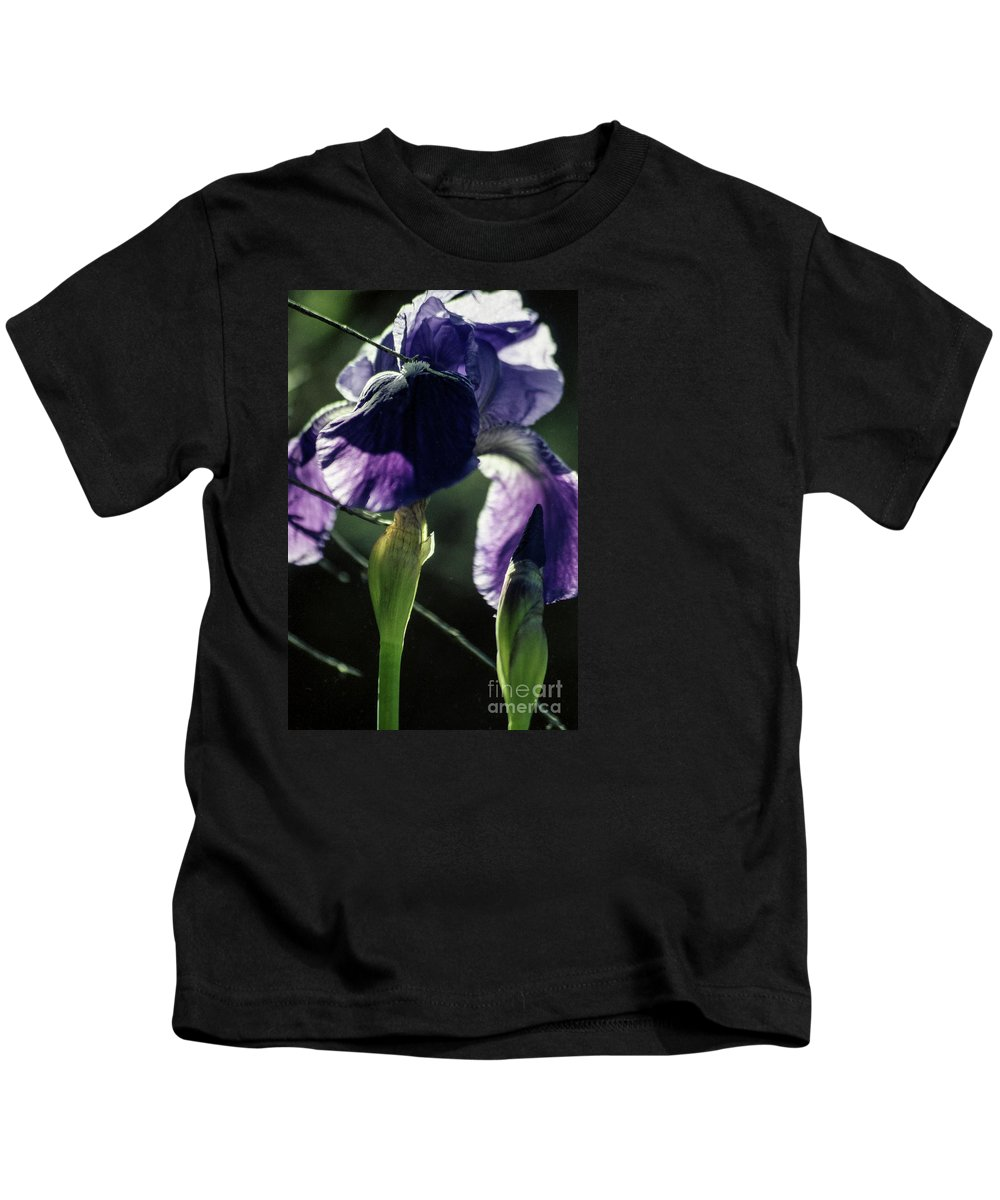 Flowers Kids T-Shirt featuring the photograph Spring's Gift by Kathy McClure