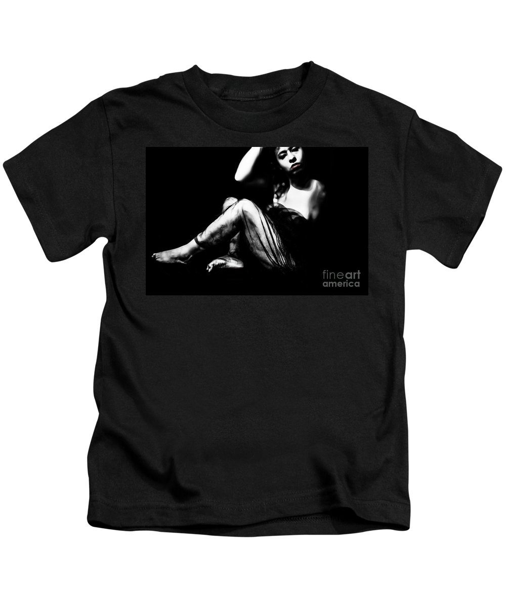 Black Kids T-Shirt featuring the photograph Its A Hard Knock Life by Jessica Shelton