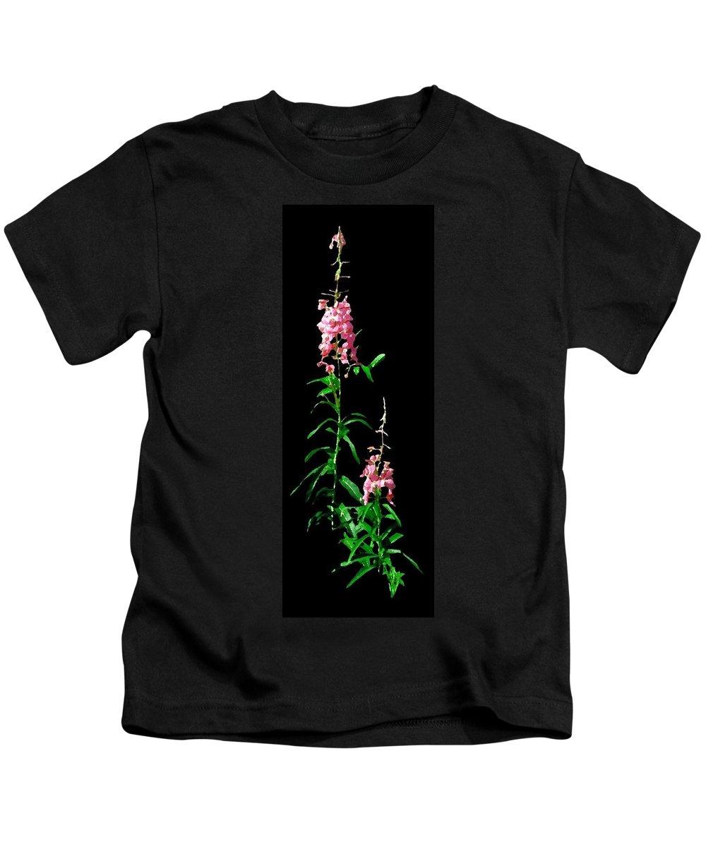 Yukon Kids T-Shirt featuring the digital art J7044 by Jill Walton