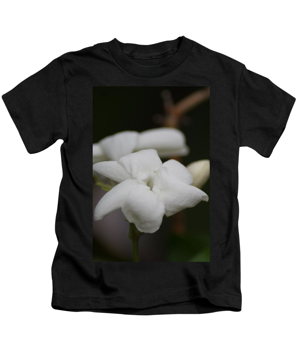 Plants Kids T-Shirt featuring the photograph Jasmine by Sheryl Chapman Photography