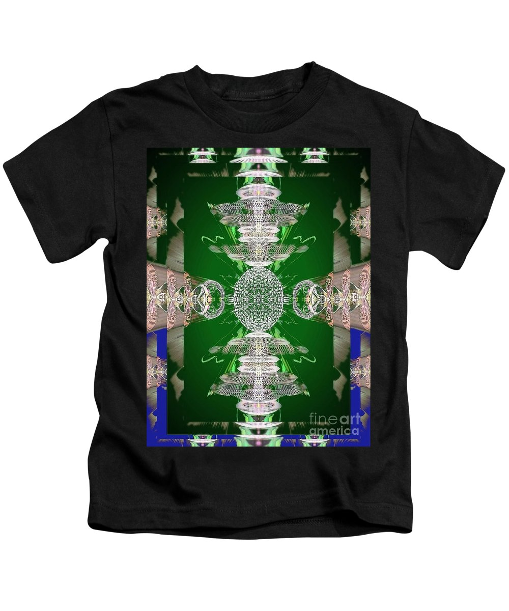 Angel Kids T-Shirt featuring the digital art Kay by Raymel Garcia