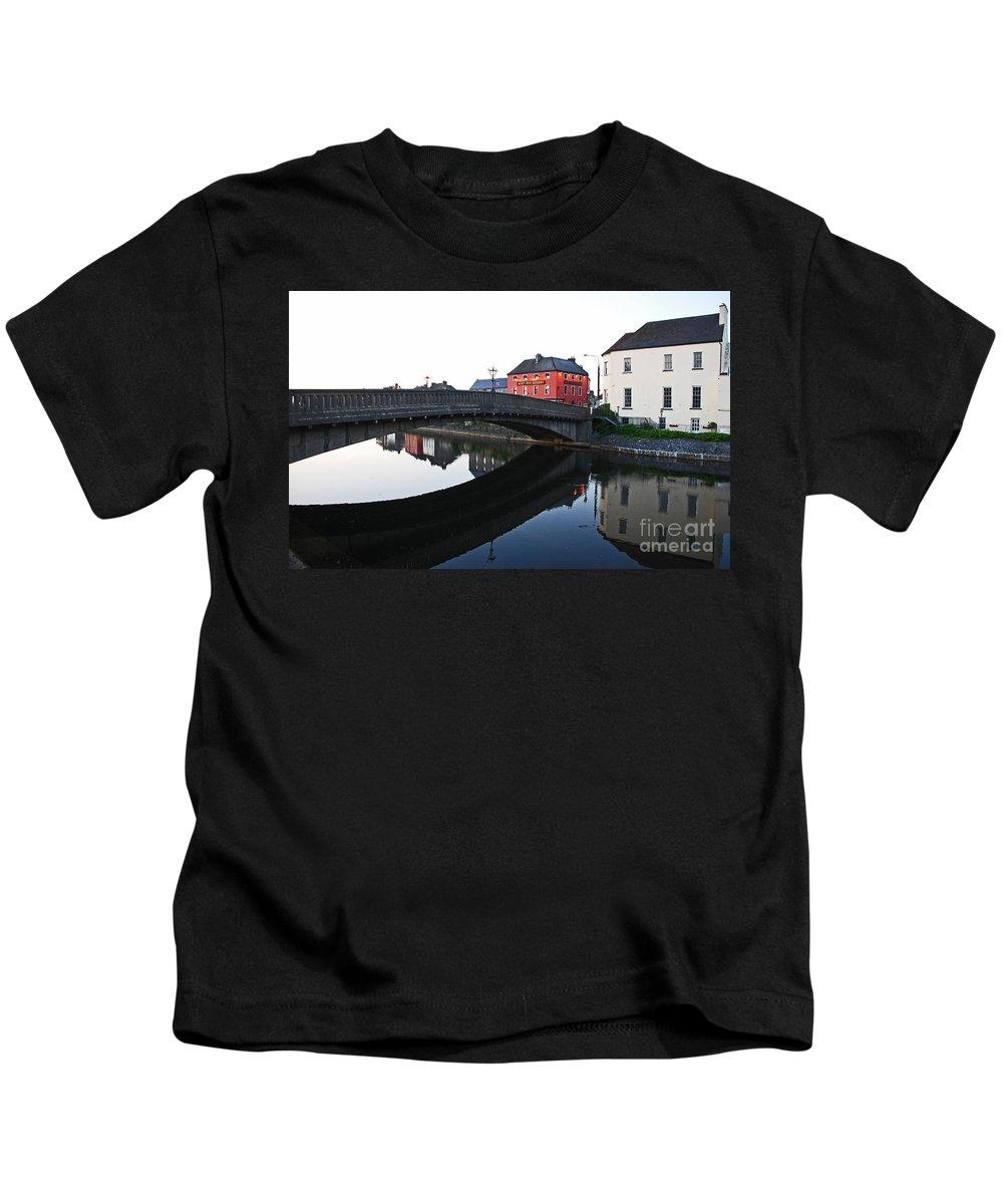 Kinkenny Kids T-Shirt featuring the photograph Kilkenny by Mary Carol Story