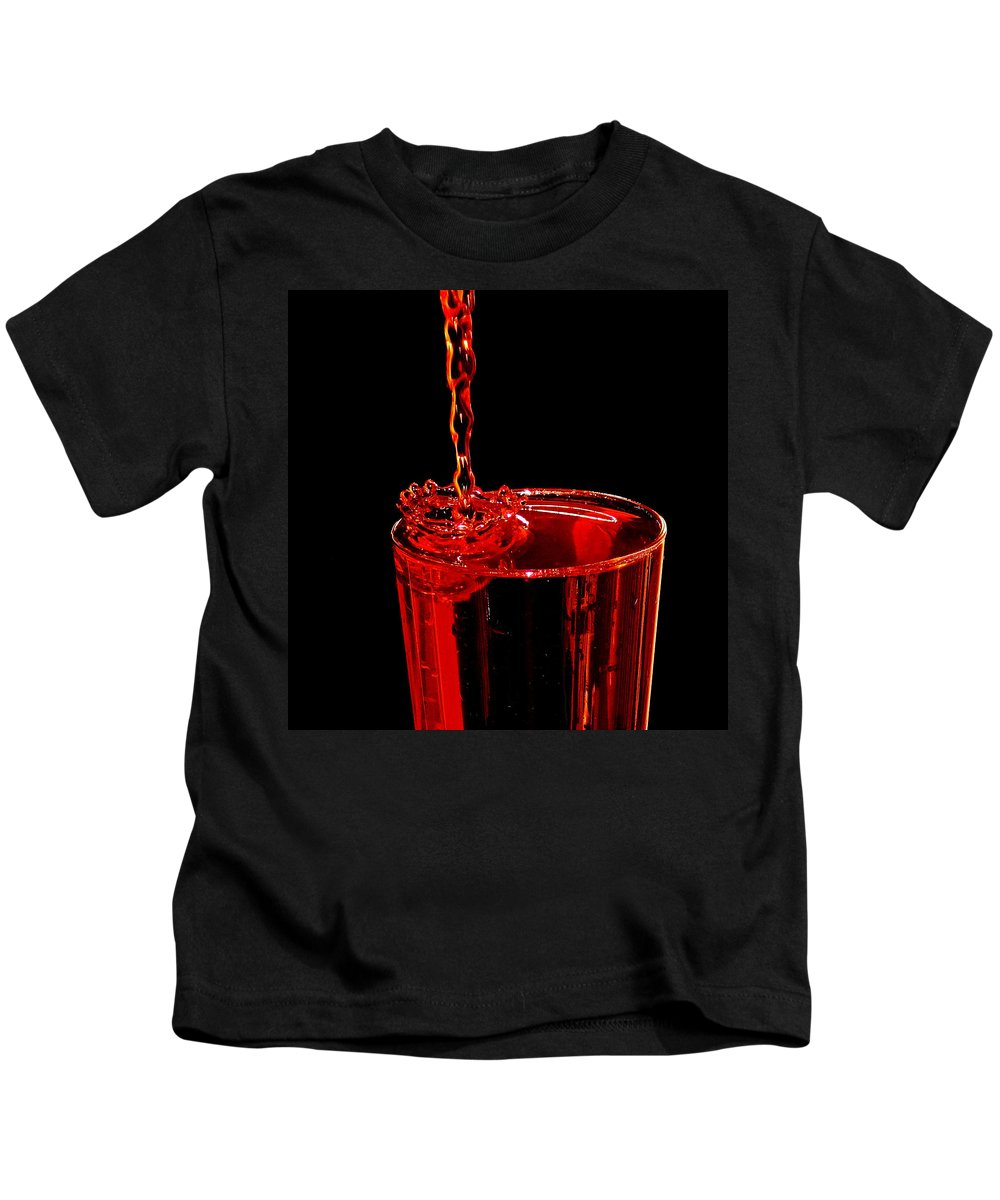 Crown Koolaid Kids T-Shirt featuring the photograph Kool-aid Crown by Stuart Harrison