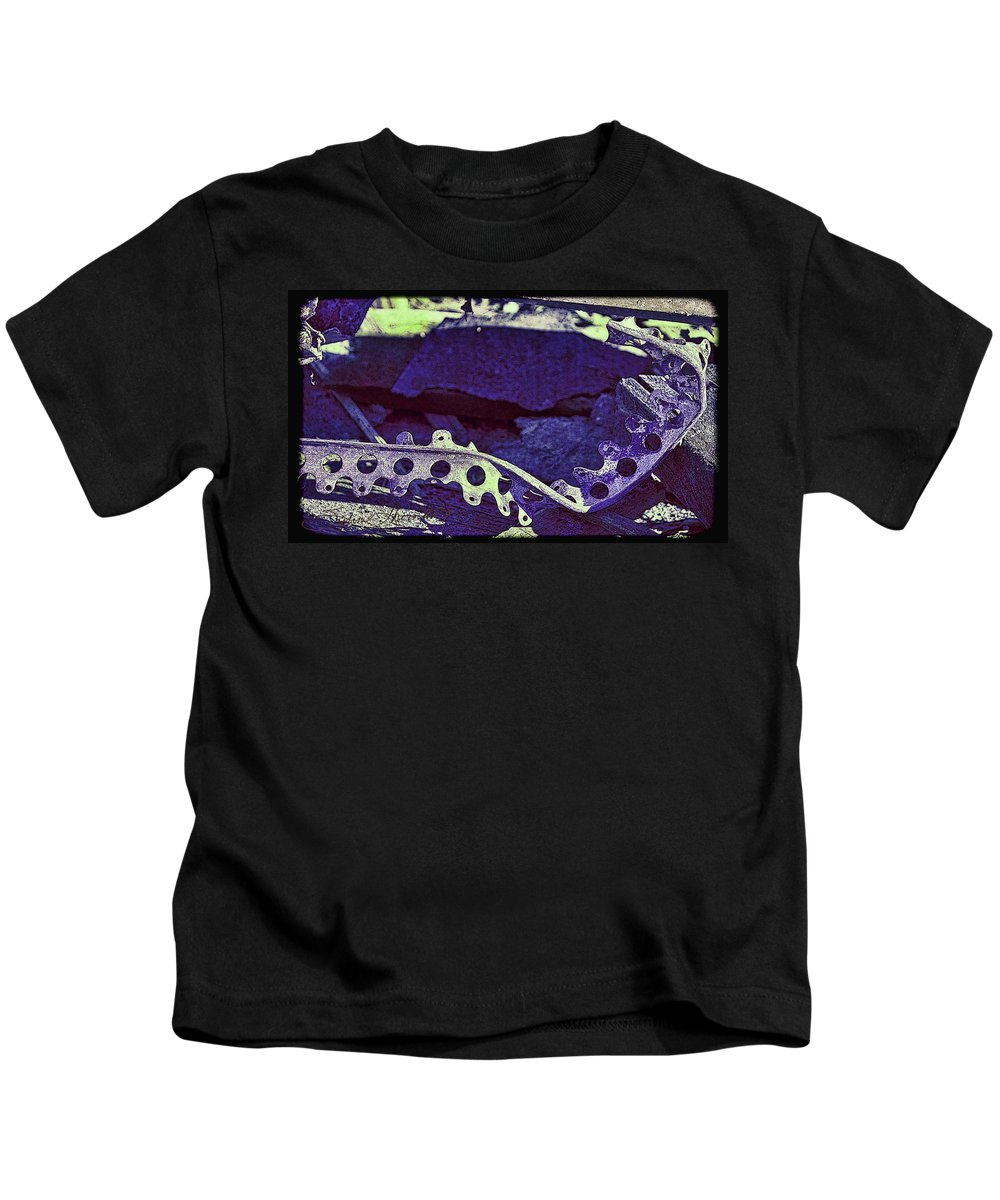 Abstract Art Kids T-Shirt featuring the photograph Lace II by Sylvia Thornton