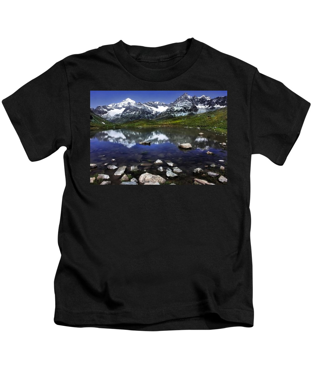 Lake Kids T-Shirt featuring the photograph Lake by Annie Snel