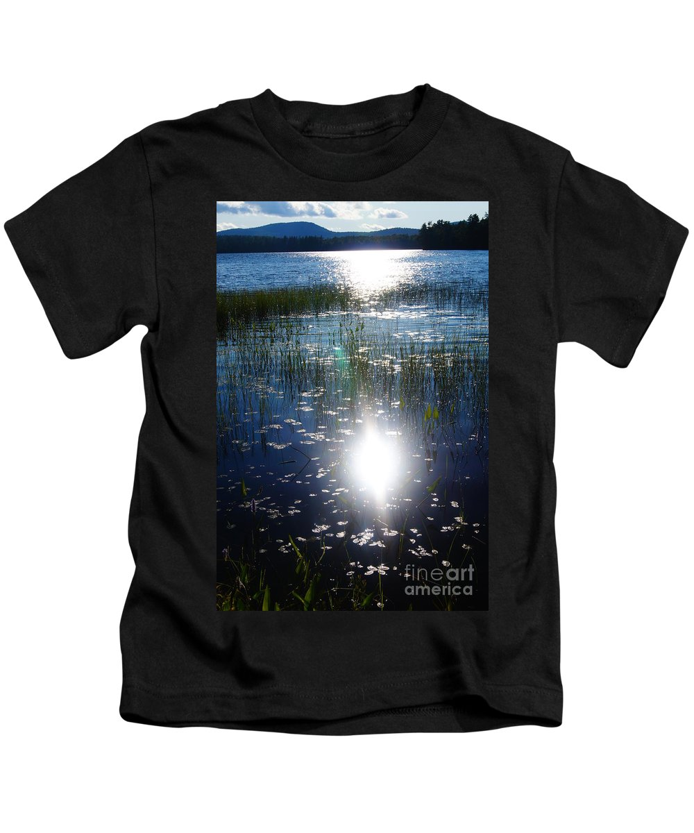 Lake Kids T-Shirt featuring the photograph Lake Sunset by Jeffery L Bowers