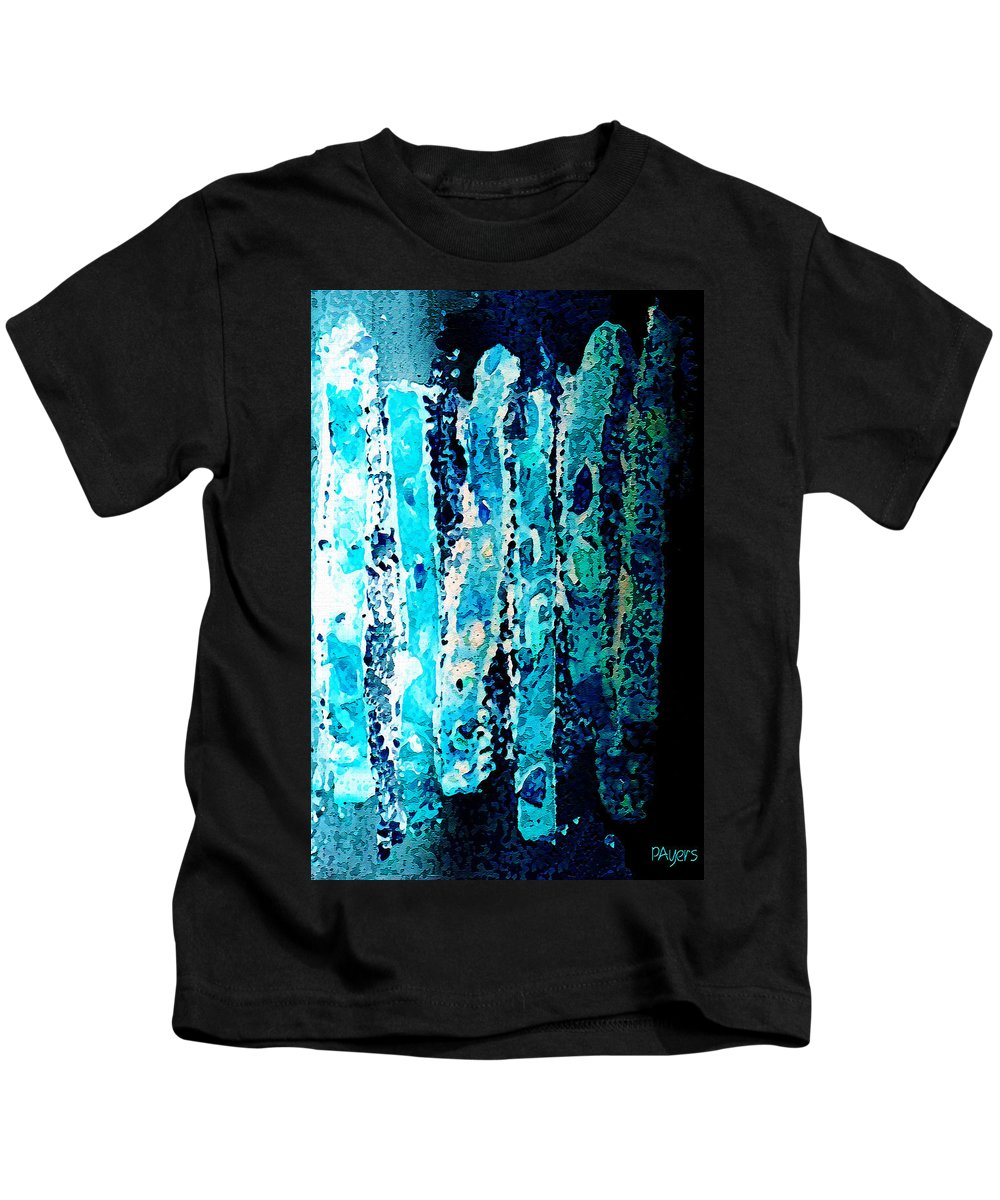 Watercolor Kids T-Shirt featuring the digital art Life by Paula Ayers