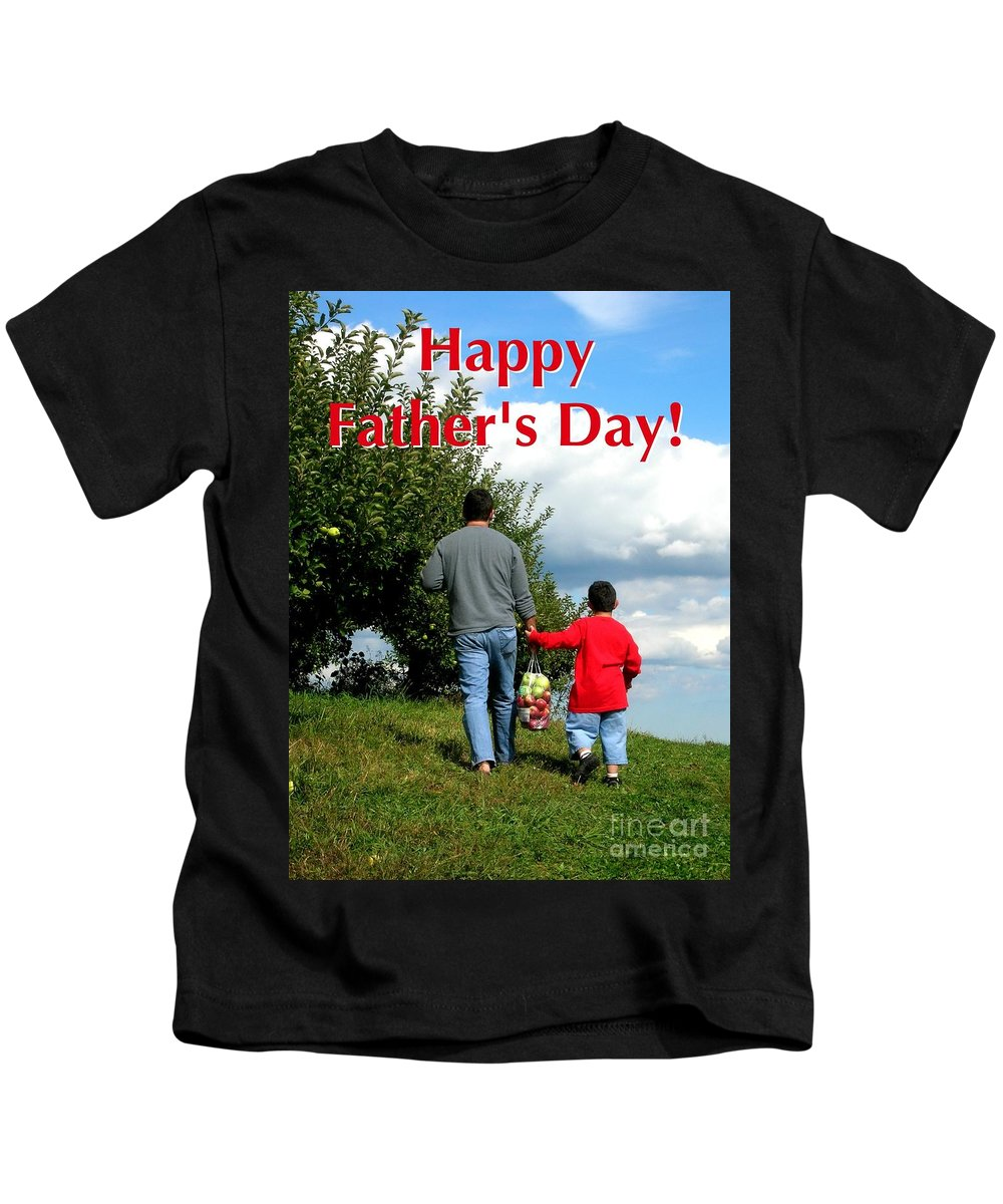 Greeting Card Kids T-Shirt featuring the digital art Life's Simple Pleasure by Christine Fournier