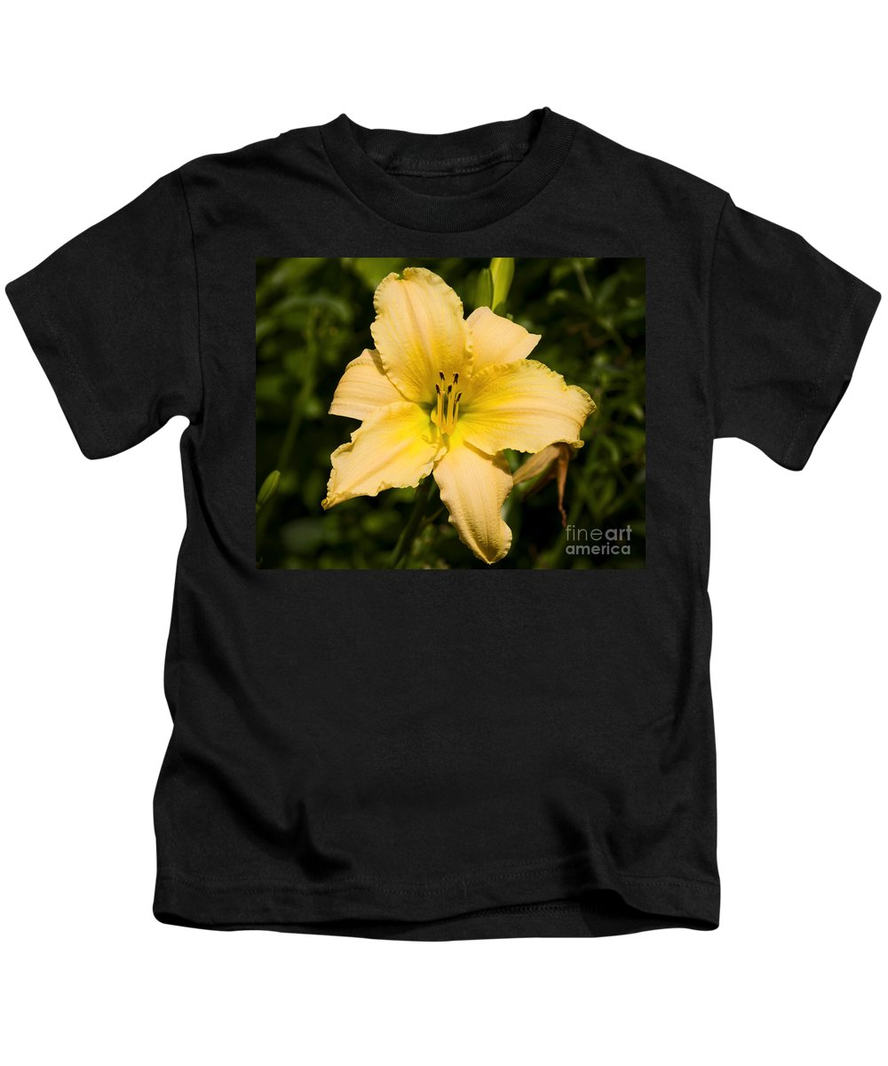 Daylily Kids T-Shirt featuring the photograph Lily For A Day by Joe Geraci