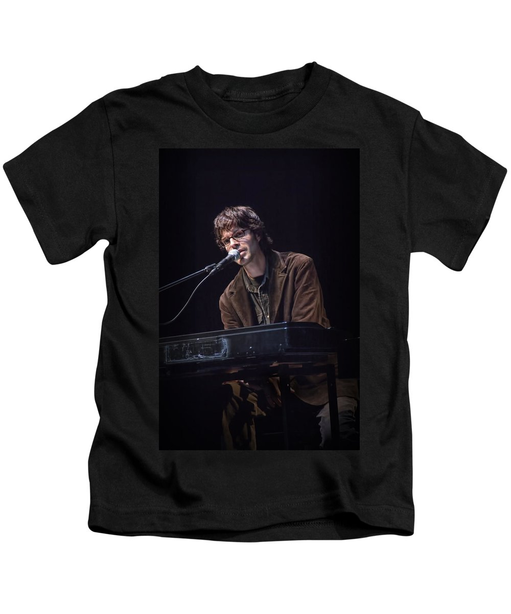 Art Kids T-Shirt featuring the photograph Linford Detweiler Of Over The Rhine by Randall Nyhof