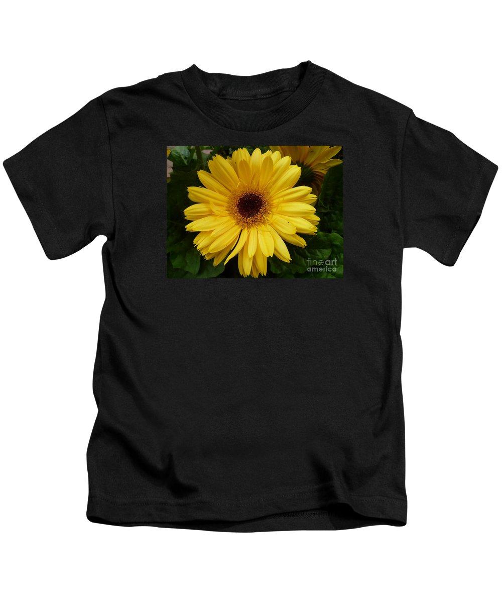 Flowers Kids T-Shirt featuring the photograph Little Miss Sunshine by Lingfai Leung