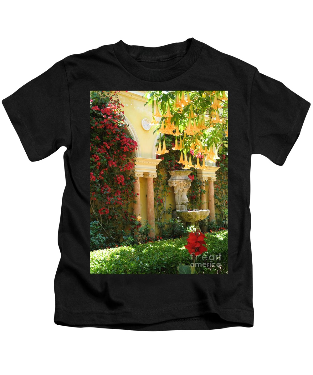Dolphin Kids T-Shirt featuring the photograph Little Paradise II by Christiane Schulze Art And Photography