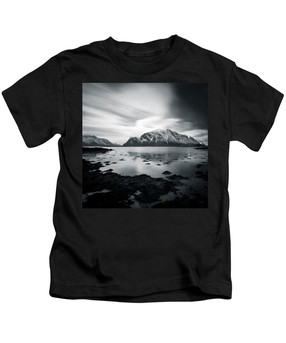 Lofoten Islands Kids T-Shirt featuring the photograph Lofoten Beauty by Dave Bowman