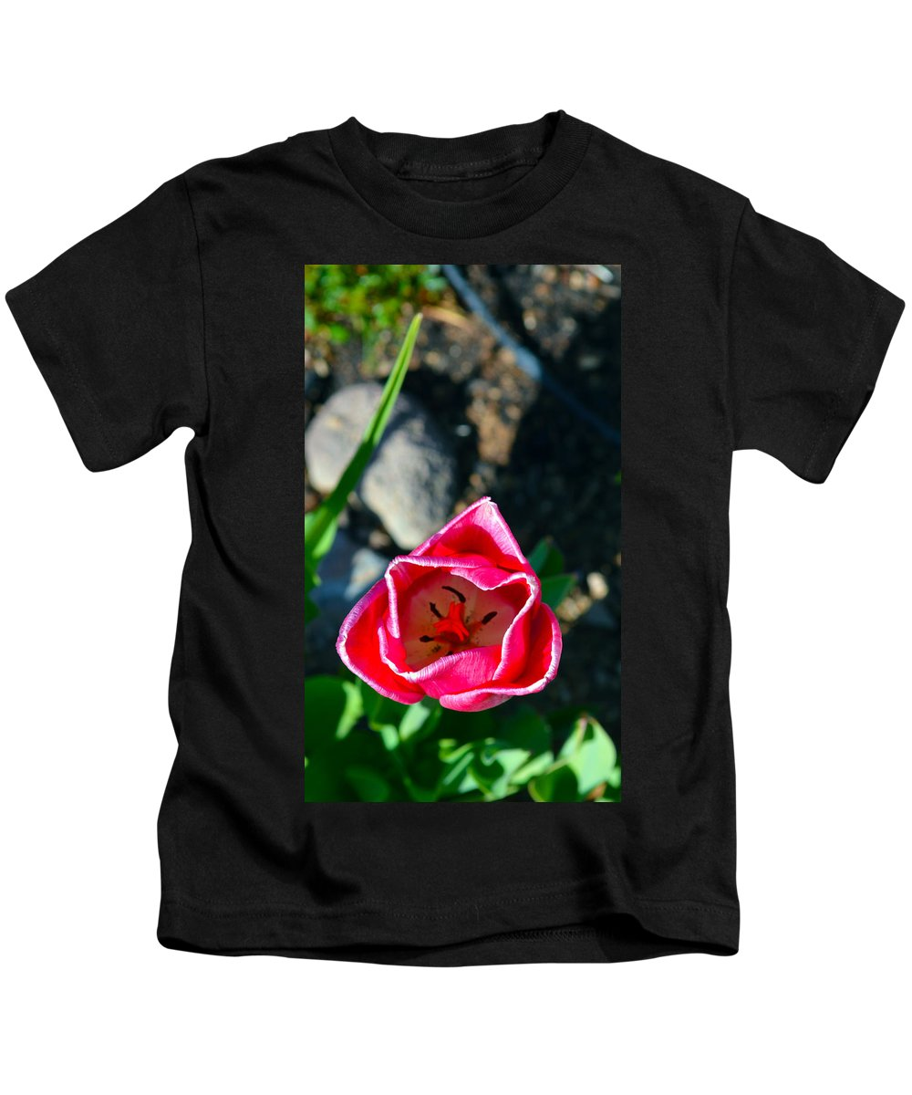 Flower Kids T-Shirt featuring the photograph Look Inside by Brent Dolliver