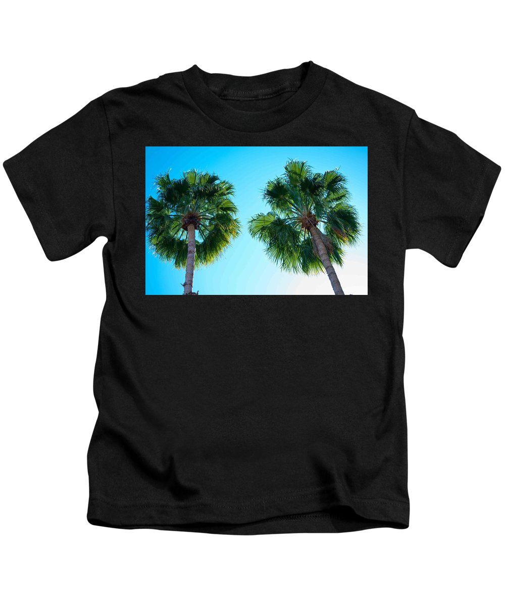 Tree Kids T-Shirt featuring the photograph Lookin Up by Bradley Bennett