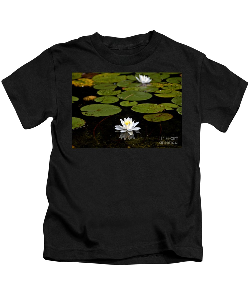 Kids T-Shirt featuring the photograph Lovely Pond Lily by Cheryl Baxter