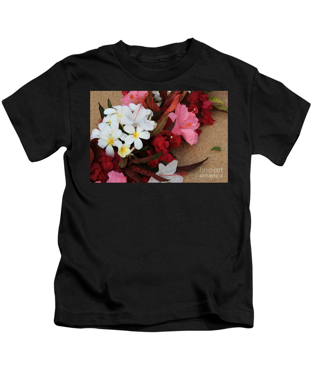 Aloha Kids T-Shirt featuring the photograph Lovers In Paradise by Sharon Mau
