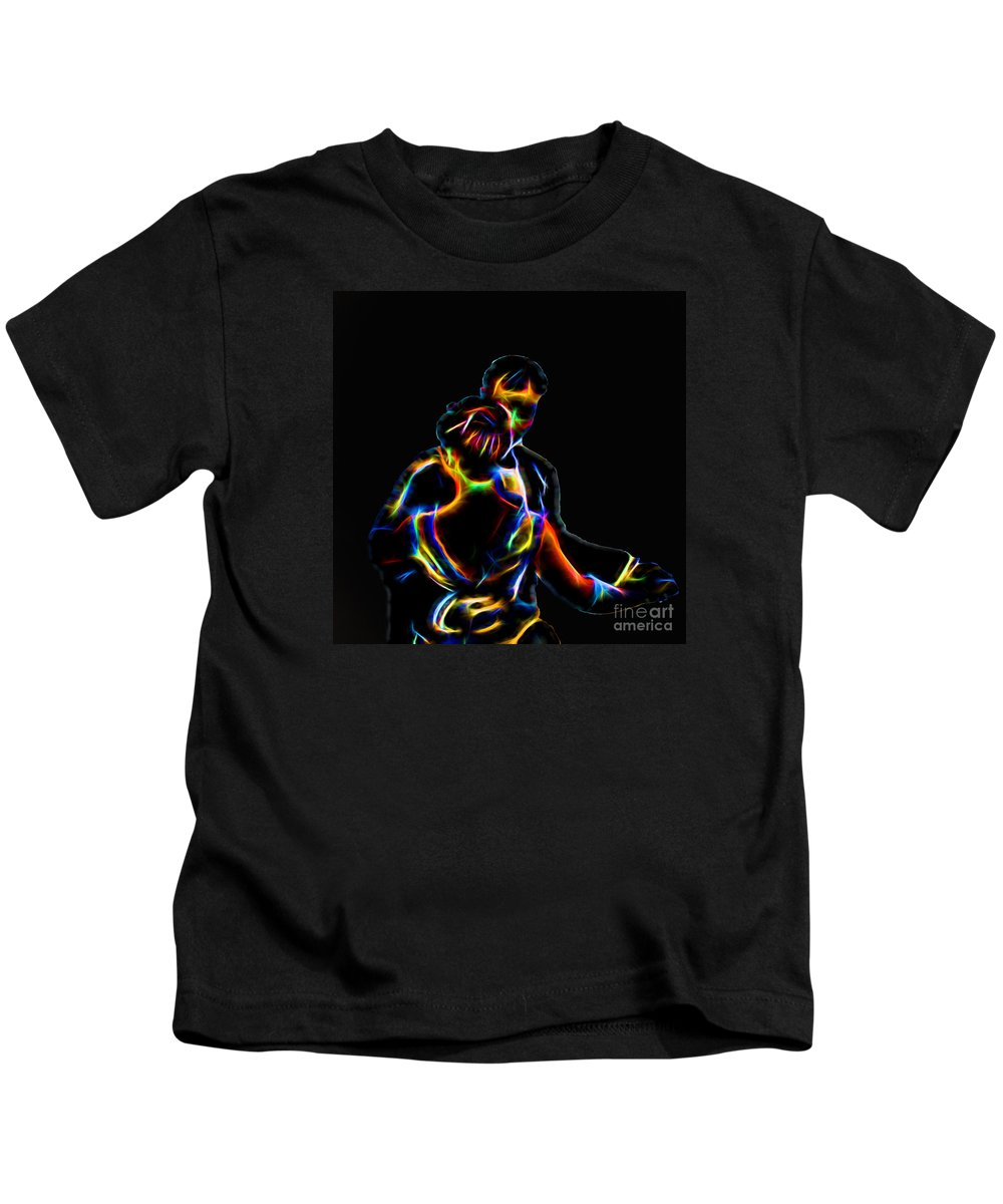 Couple Kids T-Shirt featuring the photograph Loving Couple by Tom Gari Gallery-Three-Photography