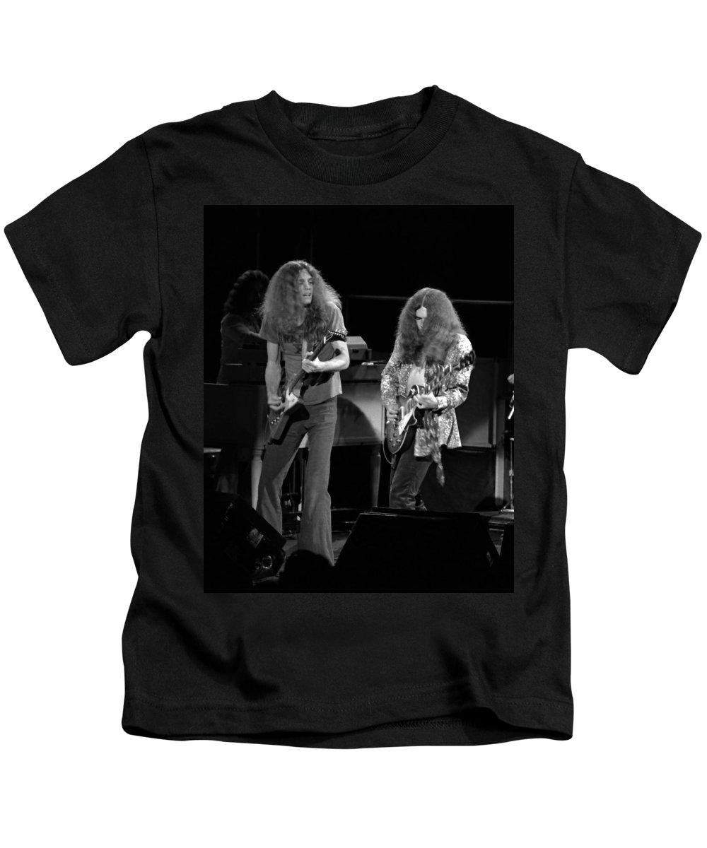 Lynyrd Skynyrd Kids T-Shirt featuring the photograph Ls Spo #21 Crop 4 by Ben Upham