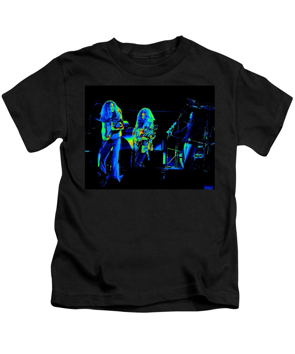 Lynyrd Skynyrd Kids T-Shirt featuring the photograph Ls Spo #21 In Cosmicolors by Ben Upham