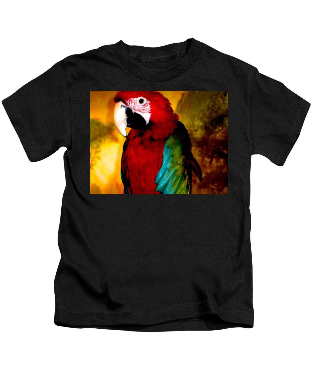 Colette Kids T-Shirt featuring the photograph Lucky Look Bird by Colette V Hera Guggenheim