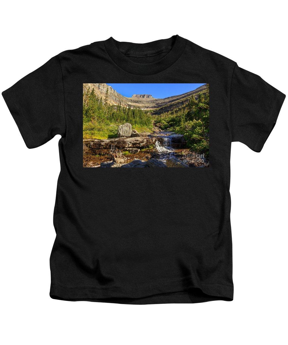 Lunch Creek Kids T-Shirt featuring the photograph Lunch Creek by Robert Bales