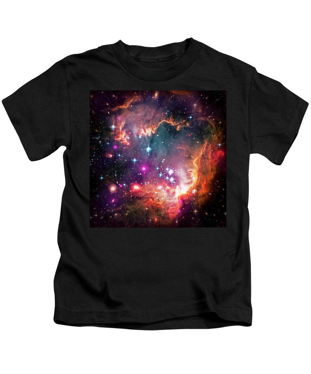 Universe Kids T-Shirt featuring the photograph Magellanic Cloud 2 by Jennifer Rondinelli Reilly - Fine Art Photography