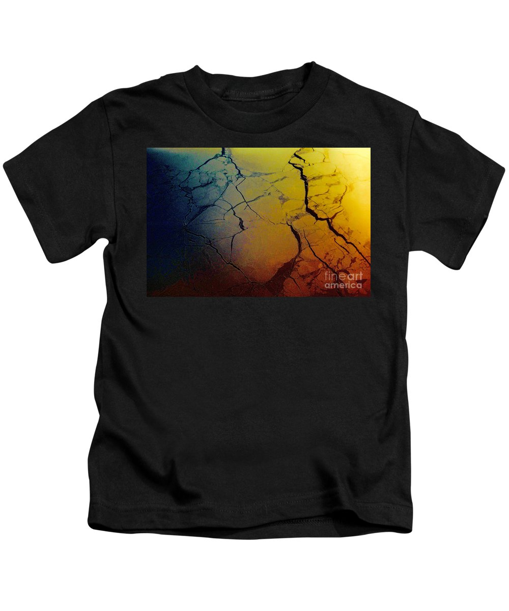 Hudson Bay Kids T-Shirt featuring the photograph Magical Yellow 4 by Karla Weber