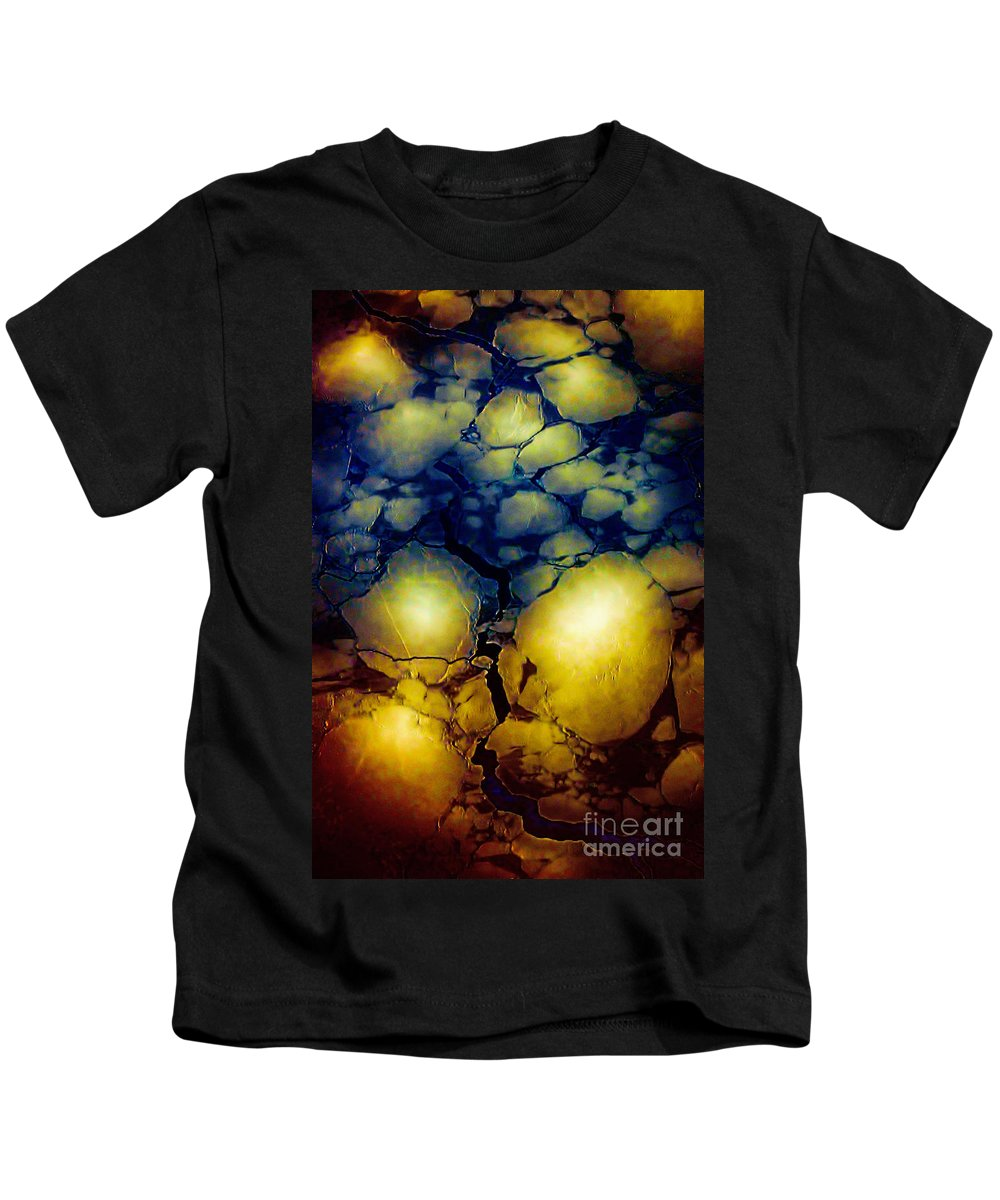 Hudson Bay Kids T-Shirt featuring the photograph Magical Yellow 5 by Karla Weber