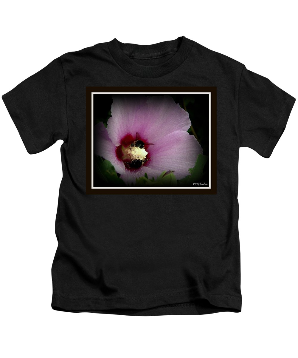 Marsh Kids T-Shirt featuring the photograph Mallow by Priscilla Richardson