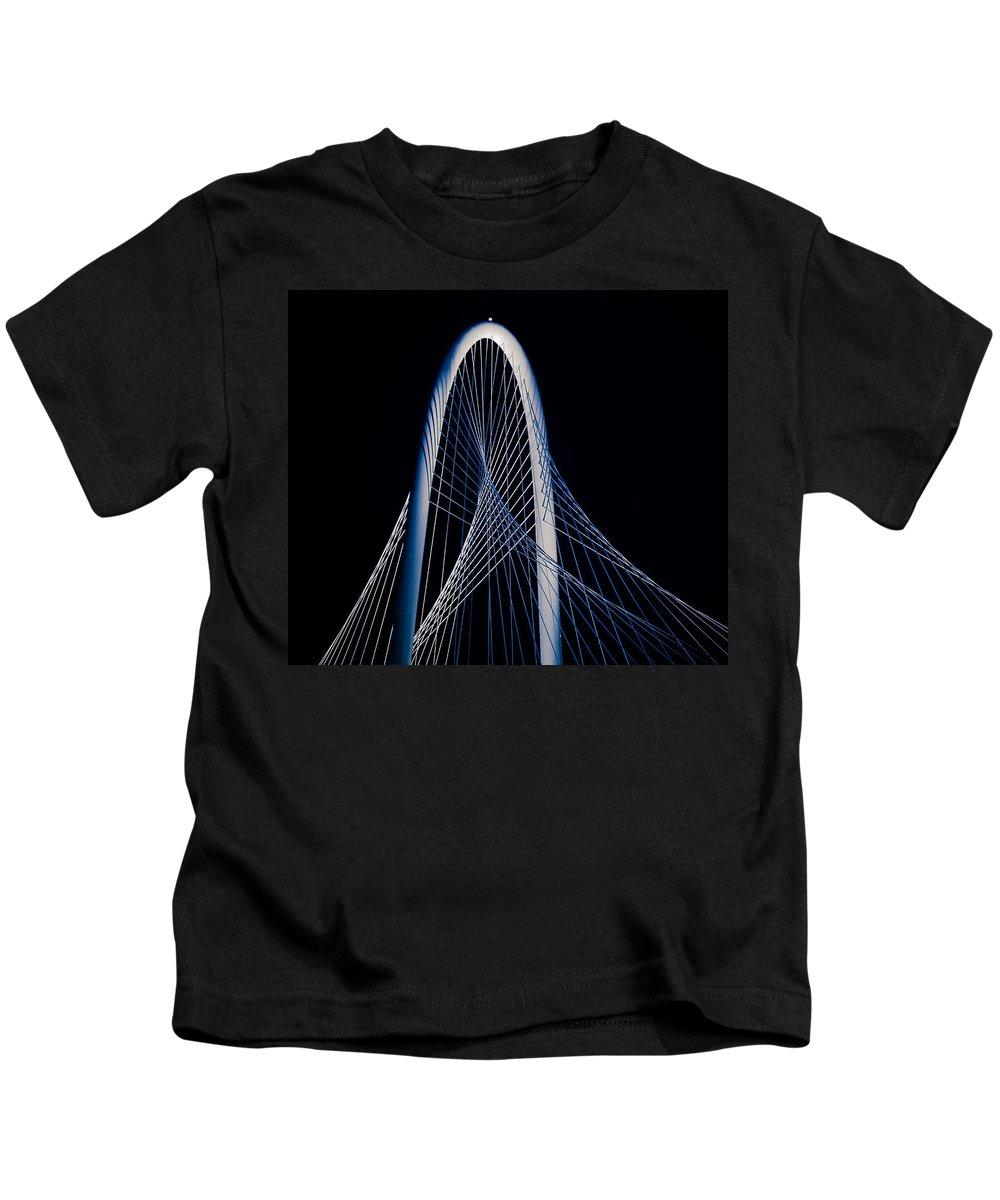 Art Kids T-Shirt featuring the photograph Margaret Hunt Hill Bridge by Darryl Dalton