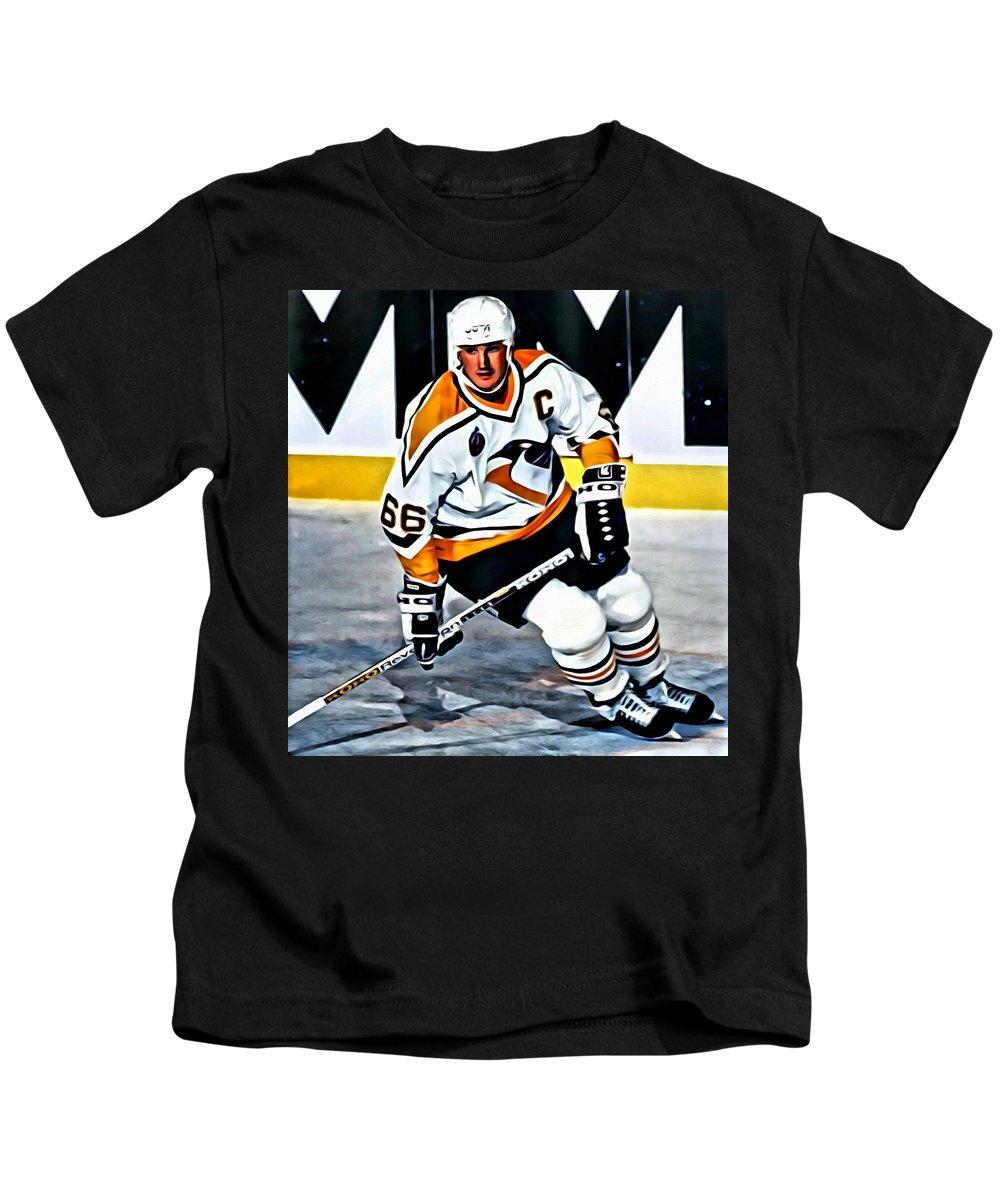 big sale 1c71c 0253e Mario Lemieux Kids T-Shirt