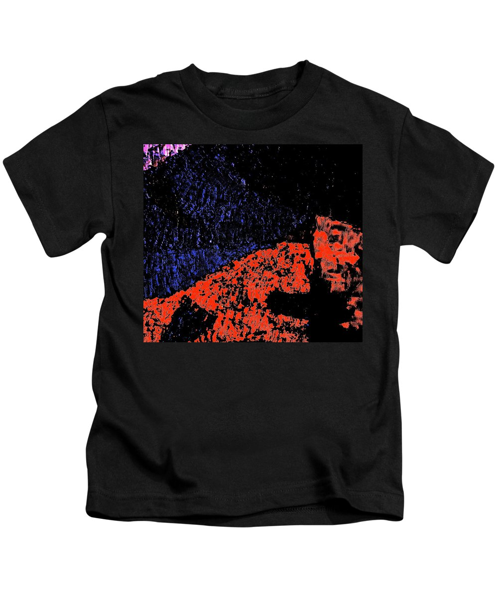 Mars Kids T-Shirt featuring the photograph Mars Red Mountain by Jeff Gater