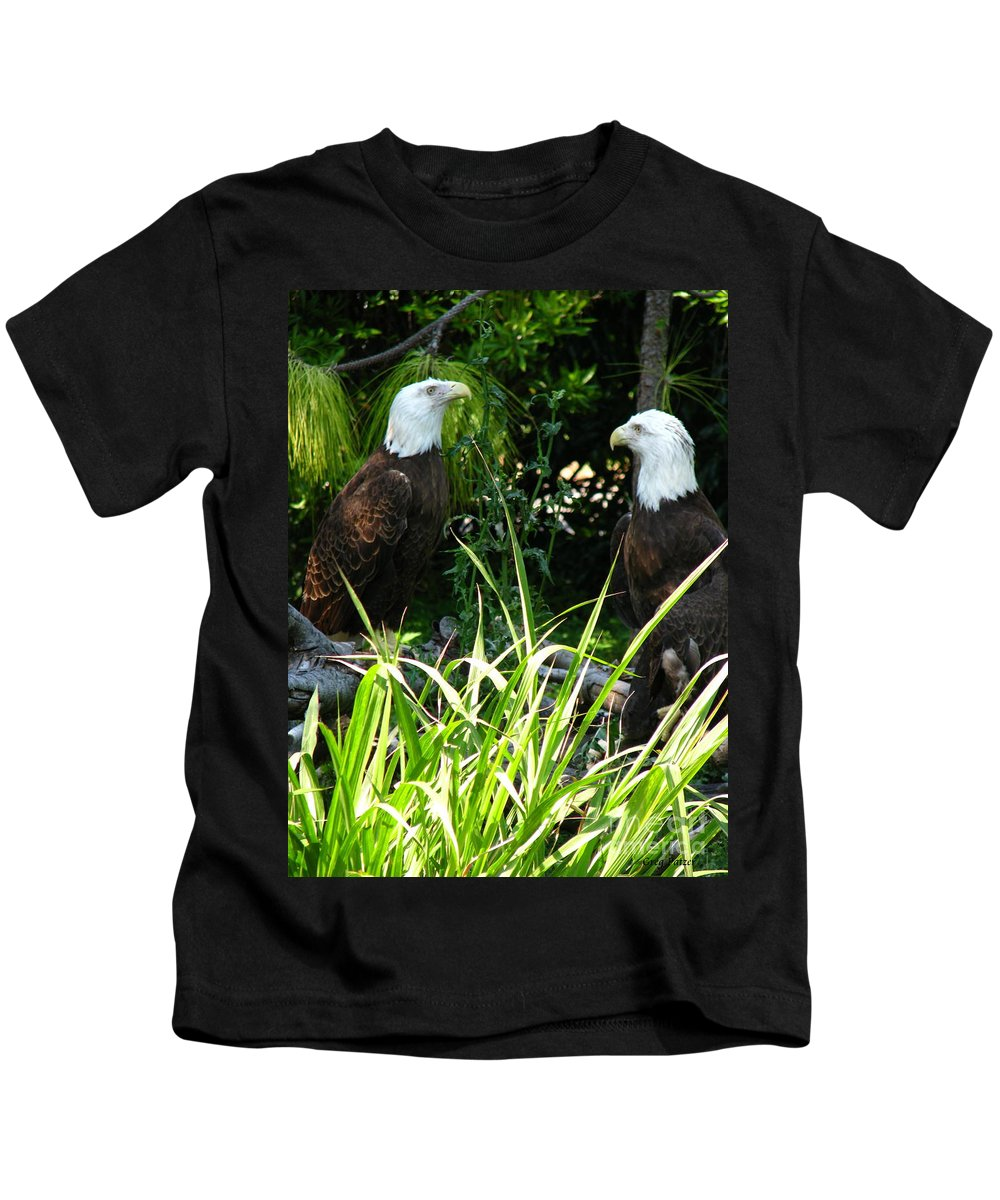 Patzer Kids T-Shirt featuring the photograph Mates by Greg Patzer