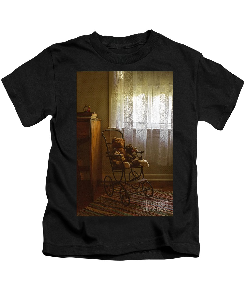Room Kids T-Shirt featuring the photograph Memories by Margie Hurwich