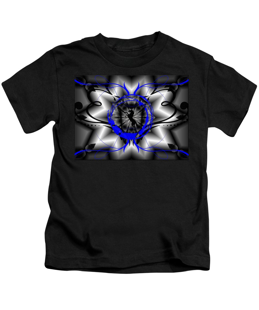 Midnight Kids T-Shirt featuring the digital art Midnight Rider by Michael Damiani