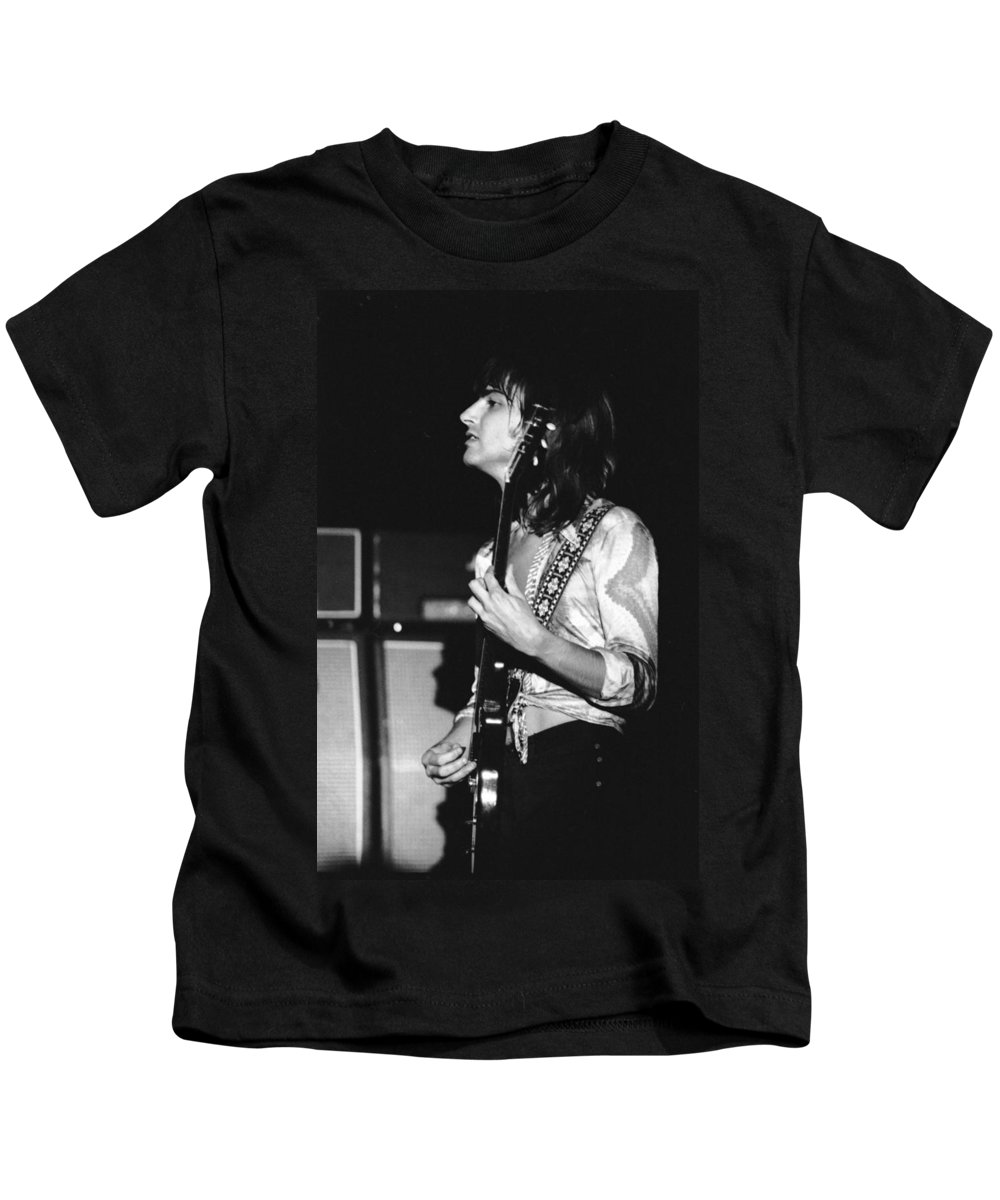 Head East Kids T-Shirt featuring the photograph Mike Somerville 20 by Ben Upham