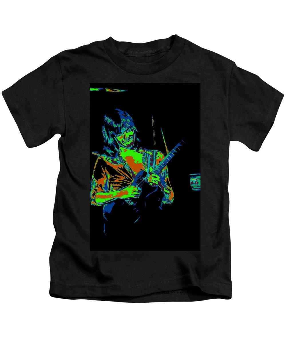 Head East Kids T-Shirt featuring the photograph Mike Somerville Art 3 by Ben Upham