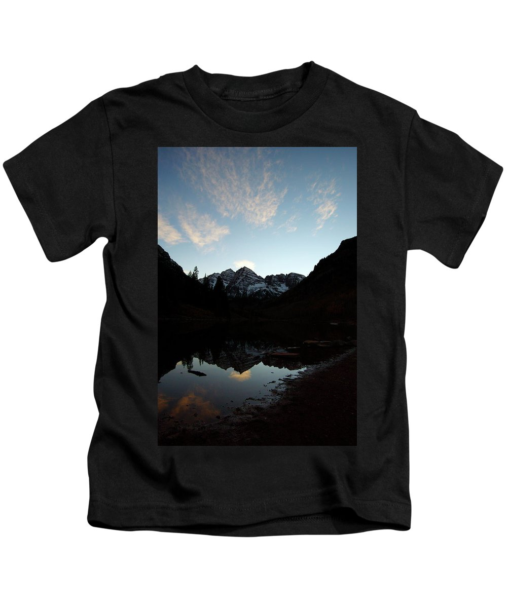 Jeremy Rhoades Kids T-Shirt featuring the photograph Mirrored Bells by Jeremy Rhoades
