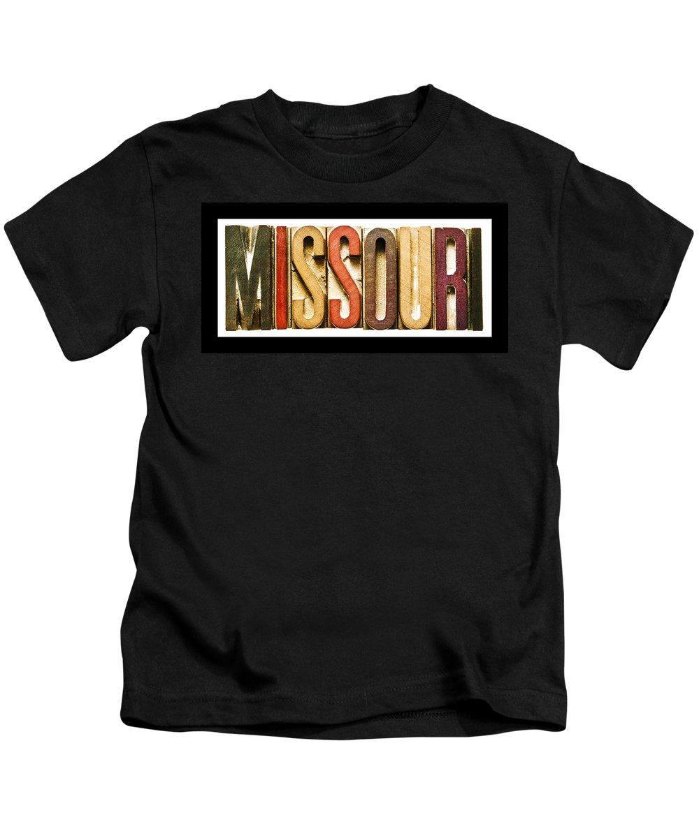 Missouri Kids T-Shirt featuring the photograph Missouri by Donald Erickson