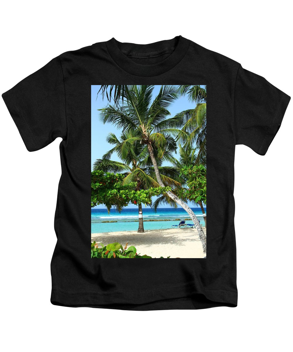 Barbados Kids T-Shirt featuring the photograph Morning Beauty by Catie Canetti