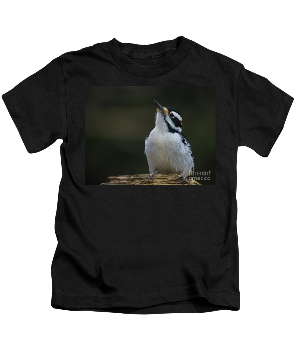 Kids T-Shirt featuring the photograph Mr Hairy Profile by Cheryl Baxter