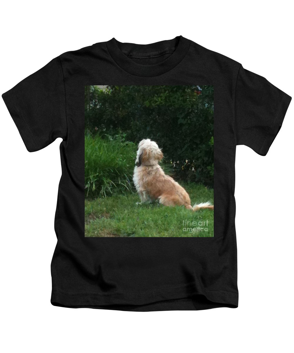 Adorable Kids T-Shirt featuring the photograph Mrs. Beazley by Angela Wright