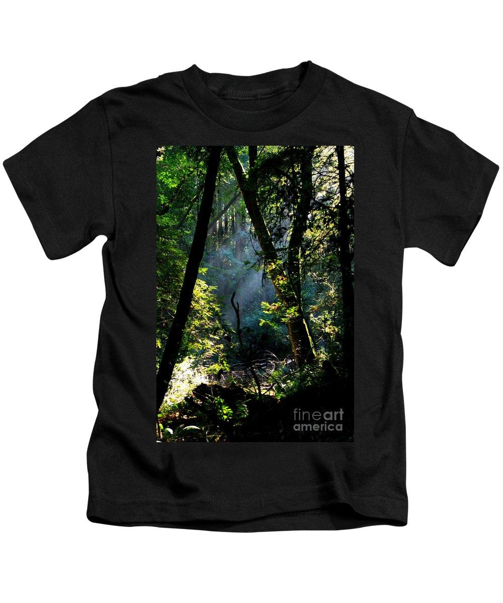 California Kids T-Shirt featuring the photograph Muir Woods by Aidan Moran