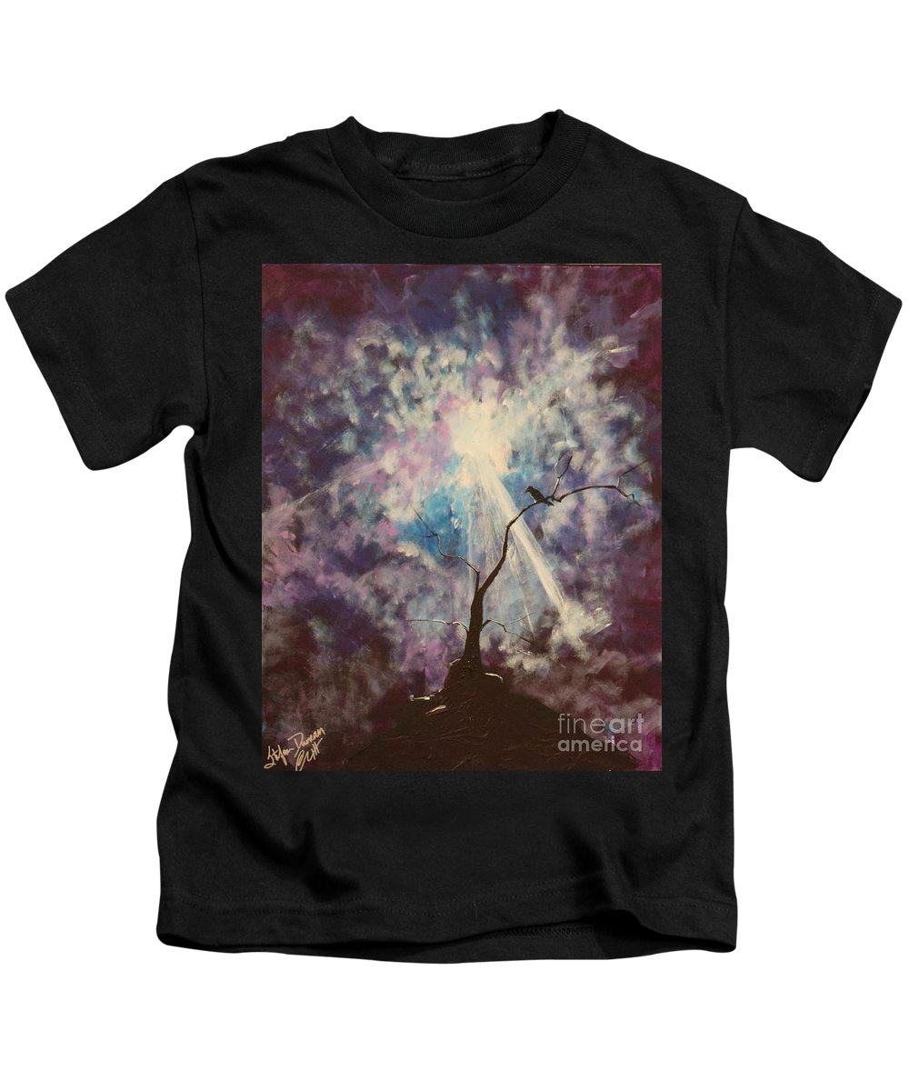 Impressionism Kids T-Shirt featuring the painting My Dream Shall Come by Stefan Duncan