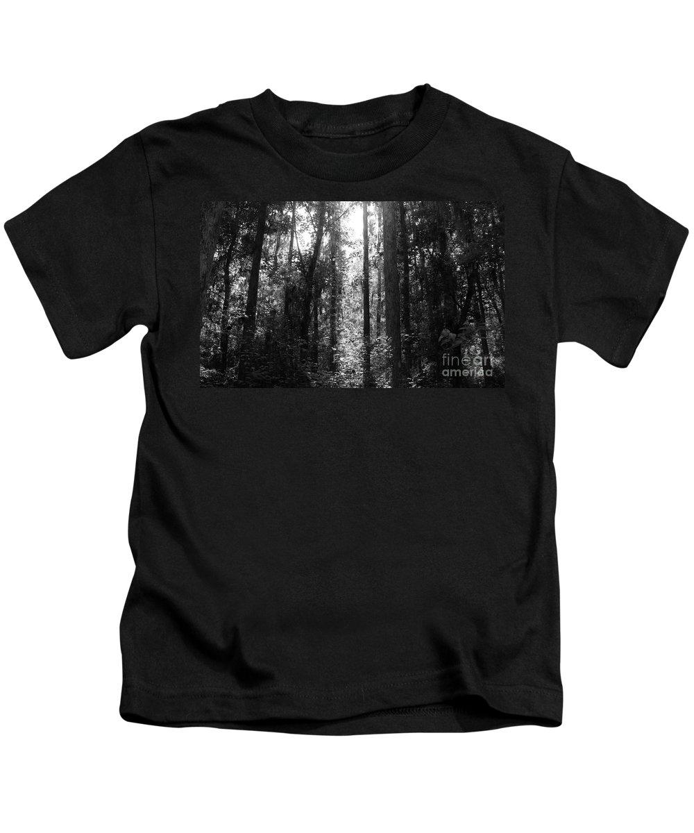 Kerisart Kids T-Shirt featuring the photograph Narrow Path by Keri West
