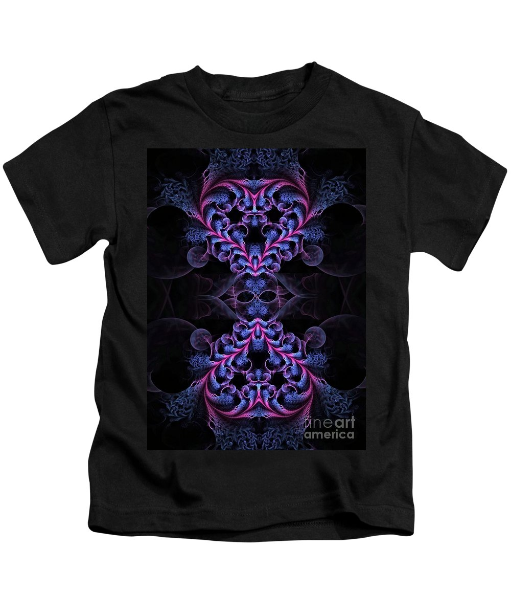 Abstract Kids T-Shirt featuring the digital art Need A Little Taste Of Love by Brian Raggatt