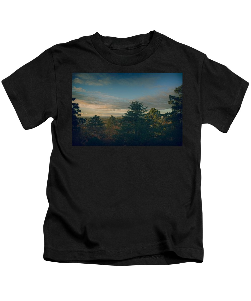 Landscape Kids T-Shirt featuring the photograph New Frontier by Peter Sherriff